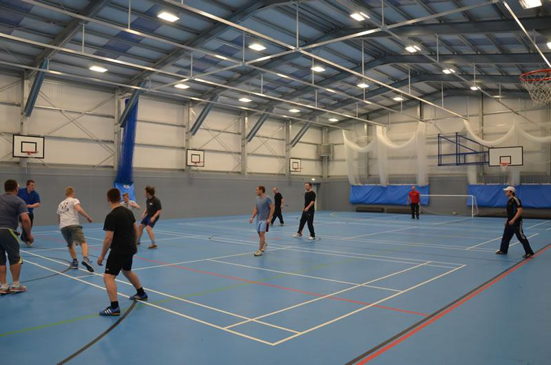 Kingsbury School Sports Hall And Reception Smart Space