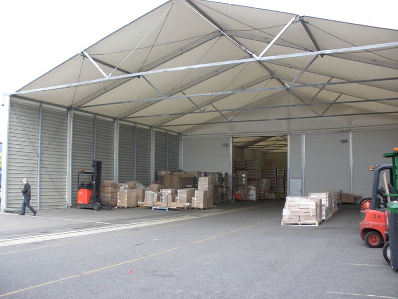 Loading Bays - Extensions - Canopies & Temporary - Permanent Loading Bay Extensions - Canopies | Smart Space