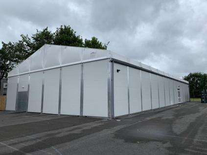 Need a Temporary Building Fast? How About this Fast!