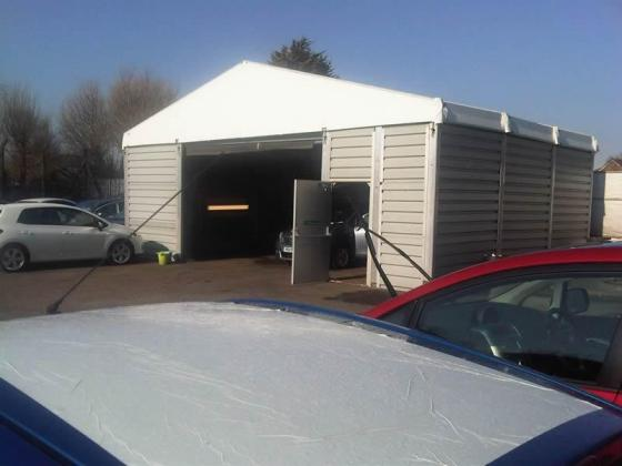 Blackpool Toyota Smart-repair and valet bay