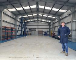 Workshop building for CoTech in Bedford