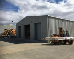 Production facility for bolt building supplies