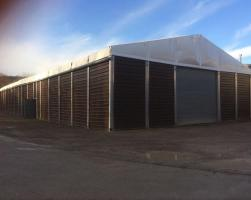 Abru temporary storage building