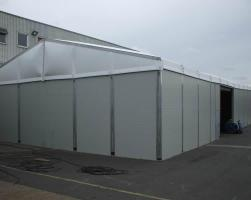 Temporary warehouse for Chiltern Cold Storage Ltd