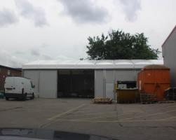 Temporary warehouse - D & G Joinery