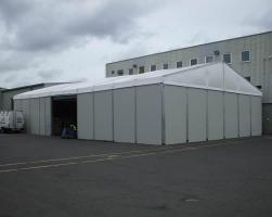 Emergency temporary buildings