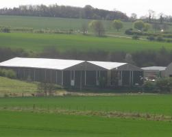 Environmentally friendly temporary building