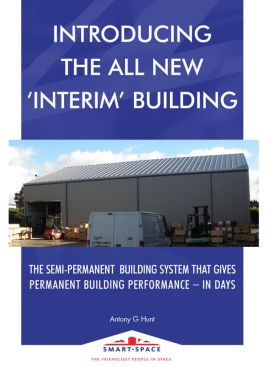 Interim Semi-permanent Buildings Guide