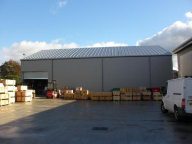 Additional Temporary Storage and Production Space for EU Weatherford