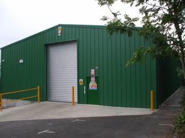 Steel warehouse purchase for sensitive material storage