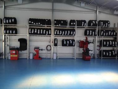 New Workshop For Tyre Centre