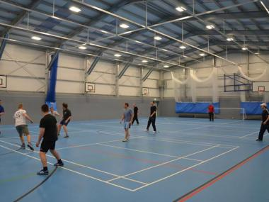 Kingsbury School Sports Hall
