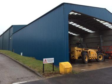 Rapid Build Loading Bay Solves Warehouse Space Dilemma