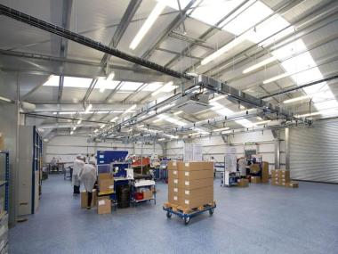 Fast Track Building System Boosts Production Space