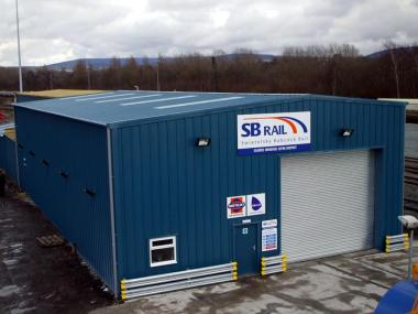 SB Rail permanent steel workshop in Ashton-under-Lyne