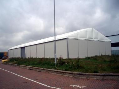 Thermo-roof Temporary Warehouse Building