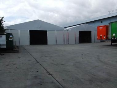 On-Site Warehouse Building for Transportation Company