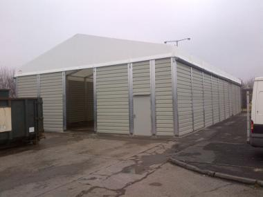 Large Temporary Warehouse Building