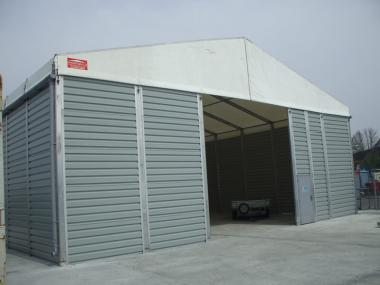 Small Temporary Storage Building