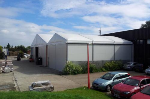 Industrial tents – relocatable temporary buildings