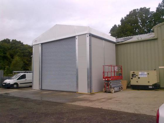 fast temporary building
