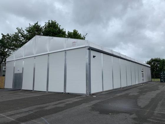 Temporary Building Fast