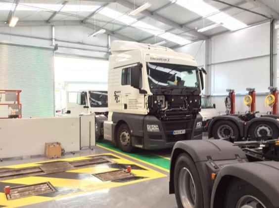 Bespoke vehicle workshop solution